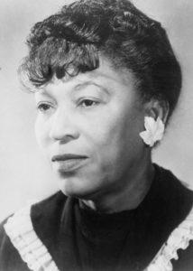 Zora Neale Hurston was an African-American novelist